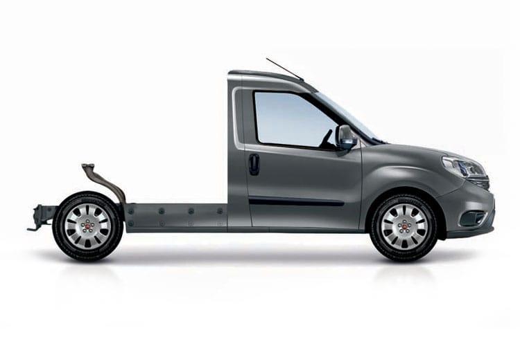 Bardzo dobra Fiat Doblo 1.3 Multijet 16v 95 Platform Cab Van Leasing SM23