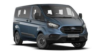 Our best value leasing deal for the  TRANSIT CUSTOM 2.0 EcoBlue 130ps Low Roof Kombi Trend Van