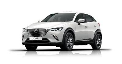 Our best value leasing deal for the  CX-3 2.0 Sport Nav + 5dr