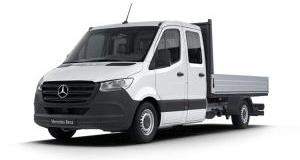 Our best value leasing deal for the  Sprinter 5.0t Crew Cab Dropside 7G-Tronic