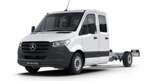 Our best value leasing deal for the  Sprinter 3.5t Crew Cab Dropside 7G-Tronic