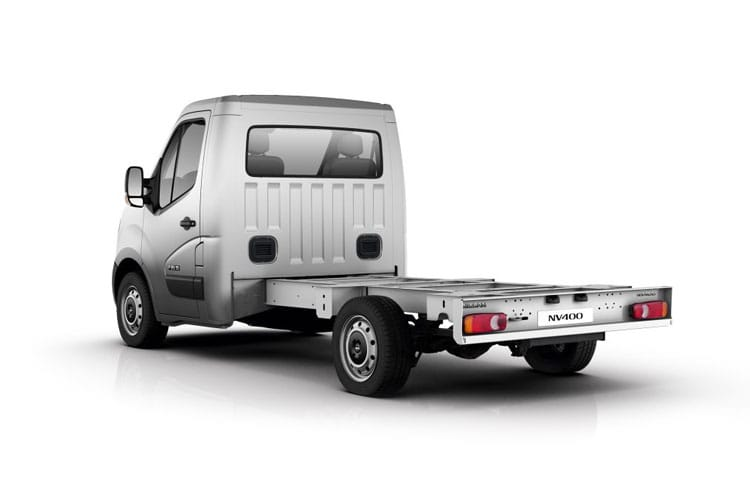 0122029edb Nissan Nv400 2.3 Dci 130ps H1 E Chassis Cab Van Leasing