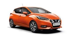 Our best value leasing deal for the  Micra 1.0 IG-T 100 Visia+ 5dr