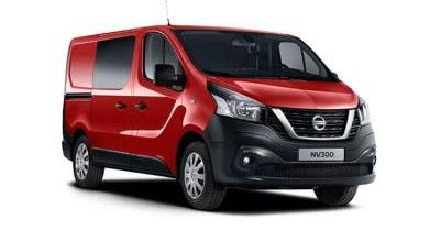 Our best value leasing deal for the  NV300 1.6 dCi 125ps H1 Tekna Crew Van
