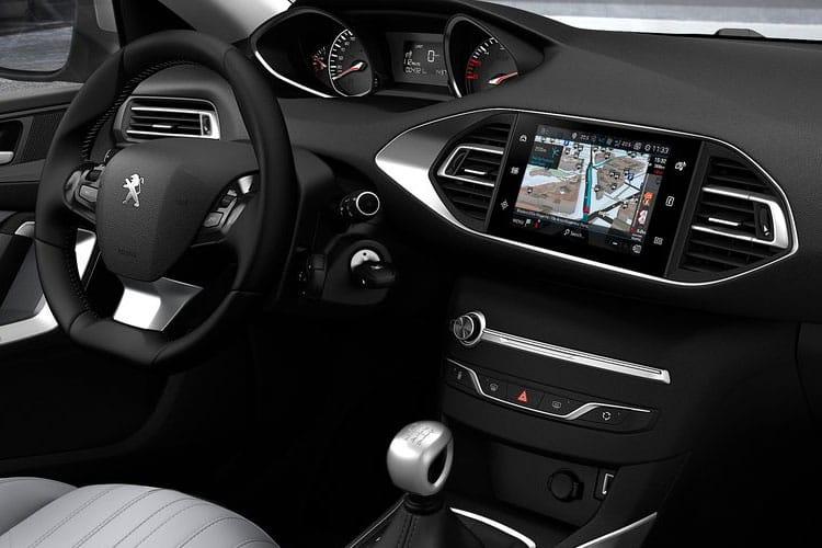 peugeot 308 diesel hatchback 1.5 bluehdi 130 allure 5dr leasing