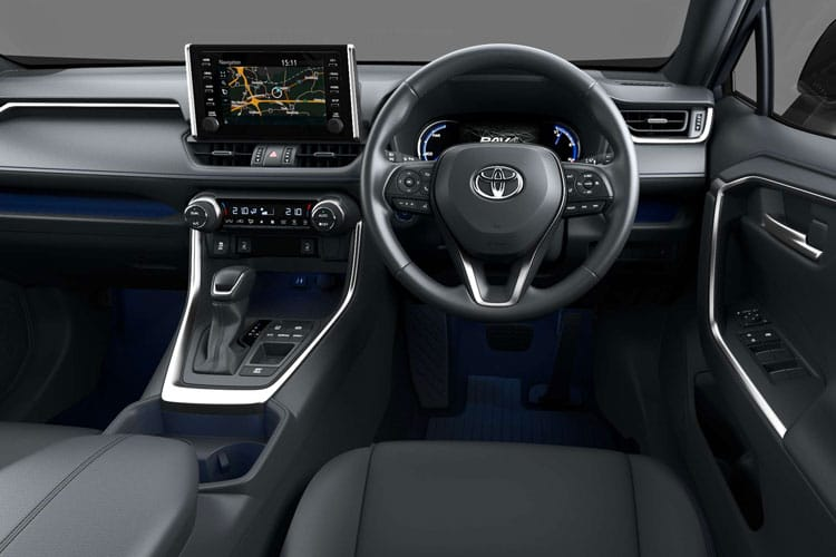 Toyota Rav4 Estate 2 5 Vvt-i Hybrid Dynamic 5dr Cvt [pan Rf