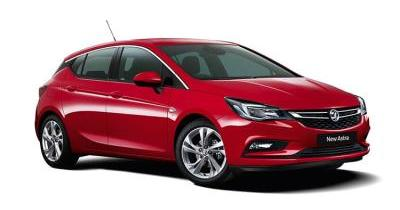 Our best value leasing deal for the  ASTRA 1.0T ecoTEC Tech Line Nav 5dr
