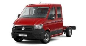 Our best value leasing deal for the  Crafter 2.0 TDI 177PS Startline Business DCab Chassis Auto
