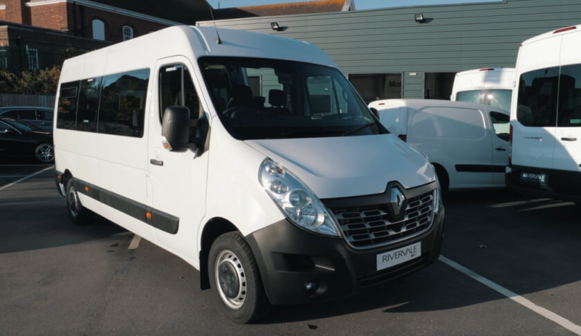 Rivervale Reviews the Renault Master Minibus