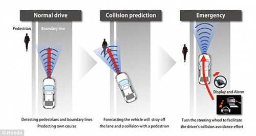 Blog / honda pedestrian safety