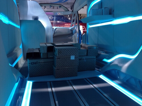 Blog / Iveco Vision Concept loading bay