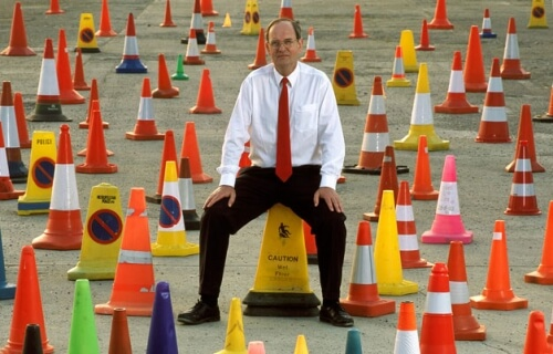 Blog / largest collection of traffic cones
