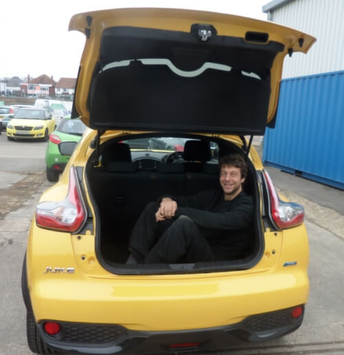Blog / nissan juke andy in boot