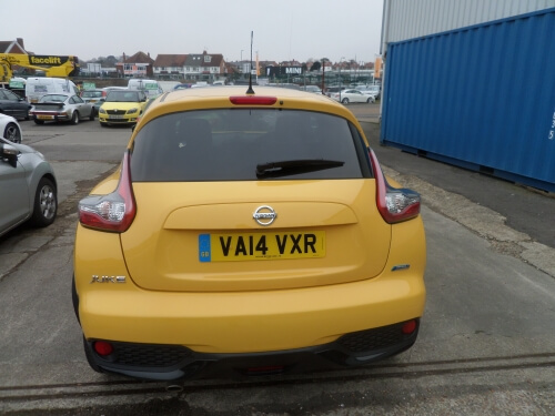 Blog / nissan juke back