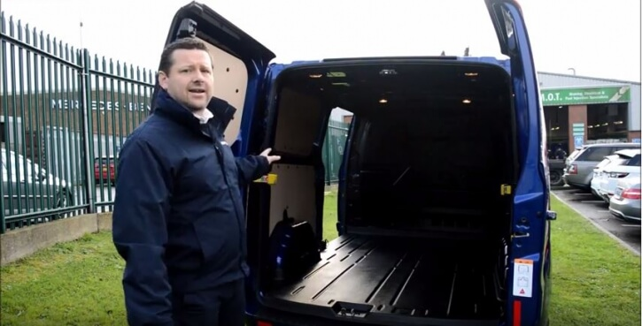 Take a tour of the Ford Transit Custom!