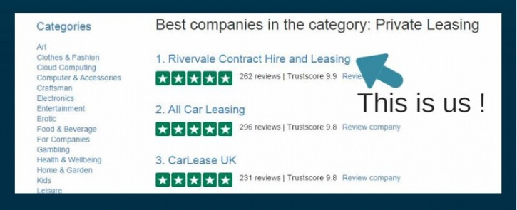 Best rated car leasing companies uk