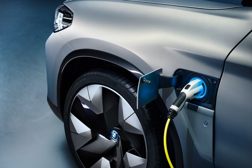 bmw ix3 charge point