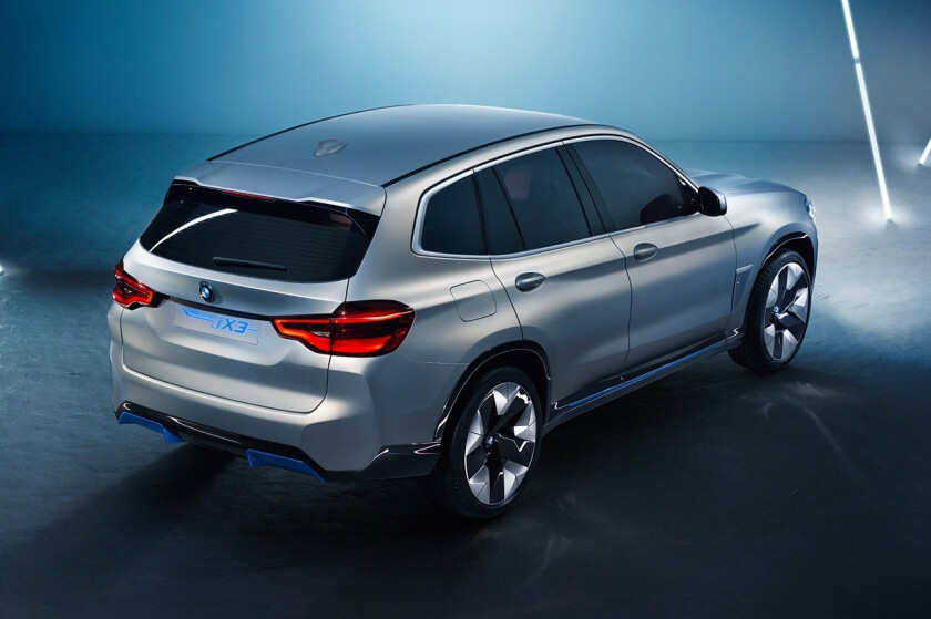 bmw ix3 rear angle