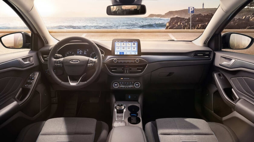 Ford focus driver view