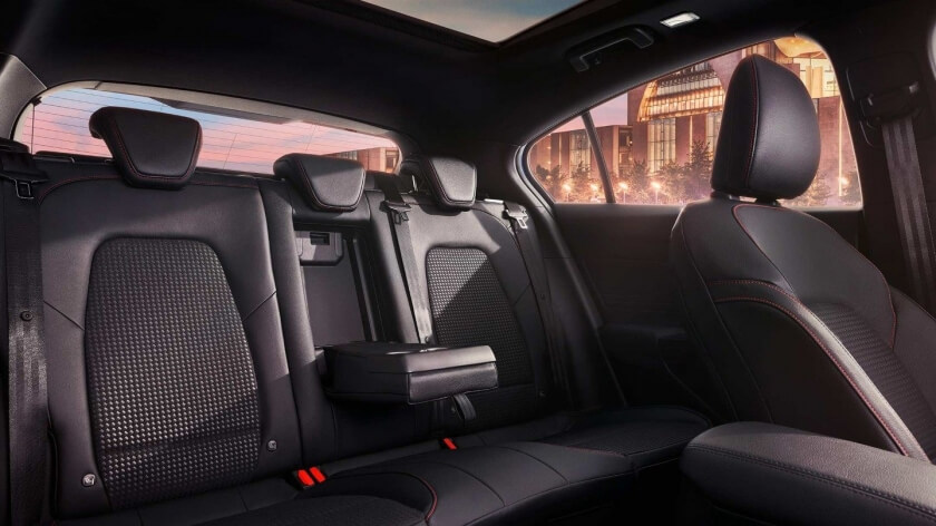 focus rear seats