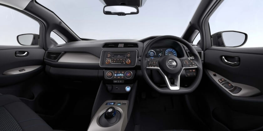 nissan leaf steering wheel