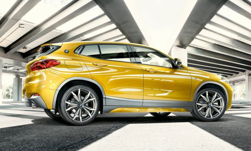 bmw x2 side profile