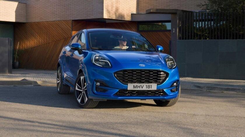 Used Van Leasing >> New 2020 Ford Puma | Rivervale Leasing