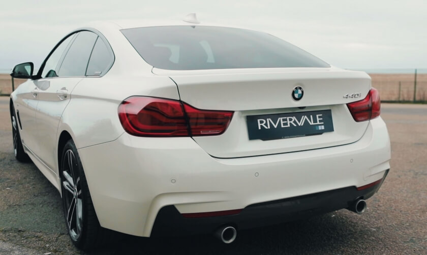 BMW 4 Series Rear