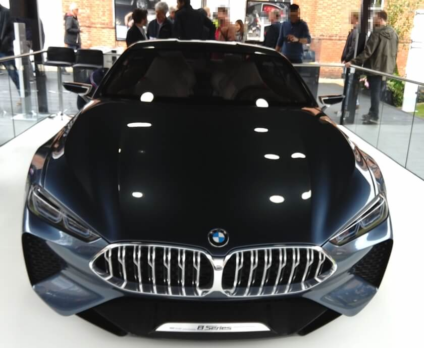 bmw 8 series concept front
