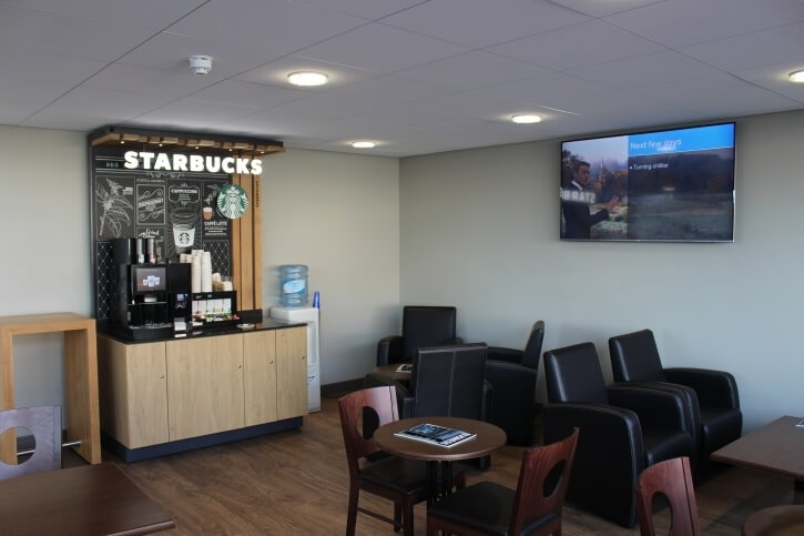 starbucks at rivervale house