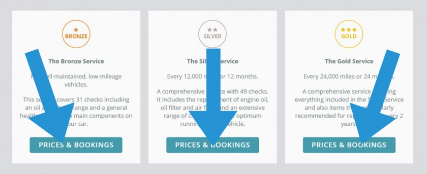 bosch service costs