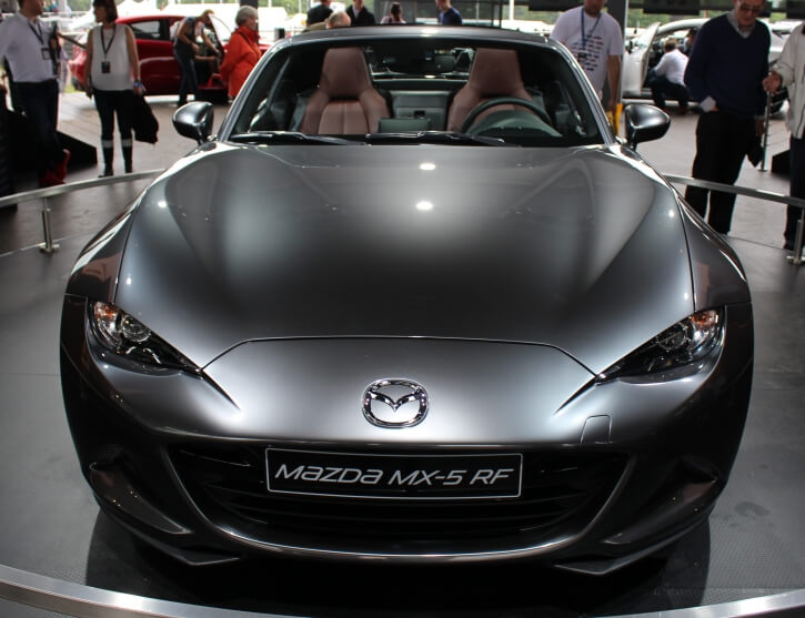 Mazda Were Keen To Give The Soft Top And Hard Top Different Personalities,  The Soft Top Feeling ...