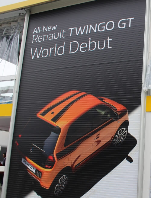 the renault twingo gt at goodwood festival of speed. Black Bedroom Furniture Sets. Home Design Ideas