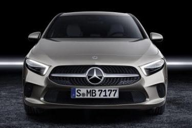 The 2019 Mercedes A Class Saloon