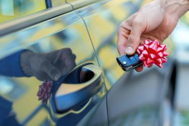 Gifting a car for Christmas? Here are some ideas