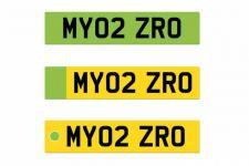 Green Number Plates Introduced on UK Roads