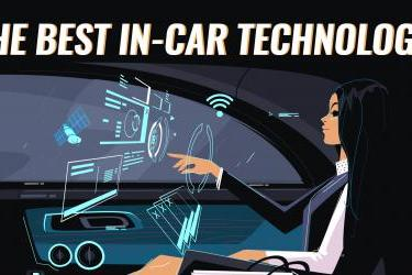 The Best In-Car Technology - Infographic