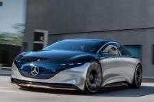 The Mercedes-Benz EQS Concept Car