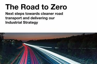 What's the latest on 'Road to Zero' and the Government going green?
