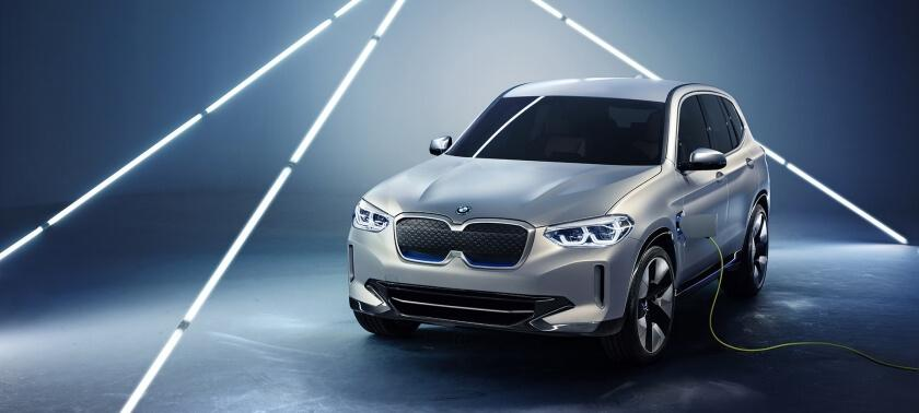 BMW's First Fully Electric SUV - the BMW iX3