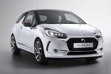 The DS3 ... without the Citroen Badge!