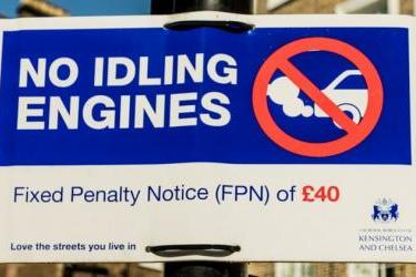 Engine Idling Law UK - Penalties for Leaving your Engine Running When Parked!