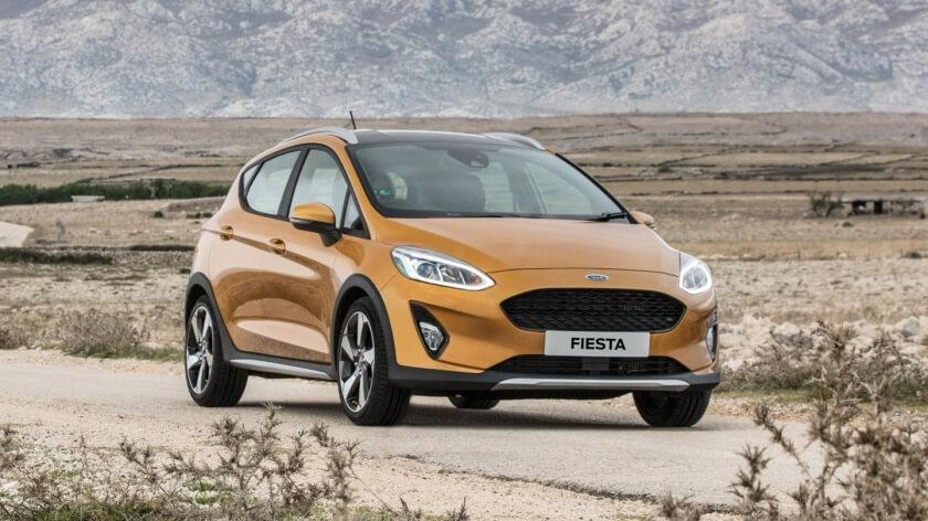 The New Fiesta Active