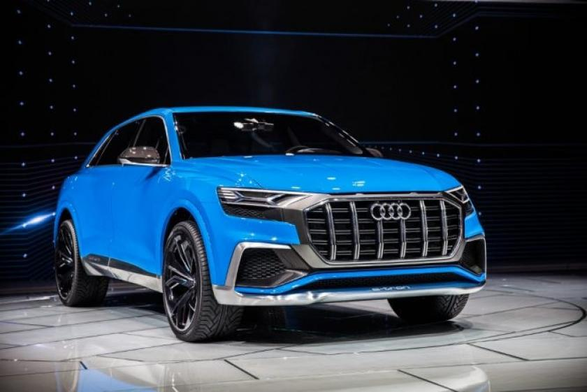 Audi Has Revealed Their Q8 Concept At The Detroit Motor Show