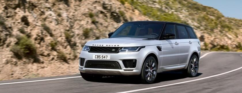 The Range Rover Sport ... with Electric Power!