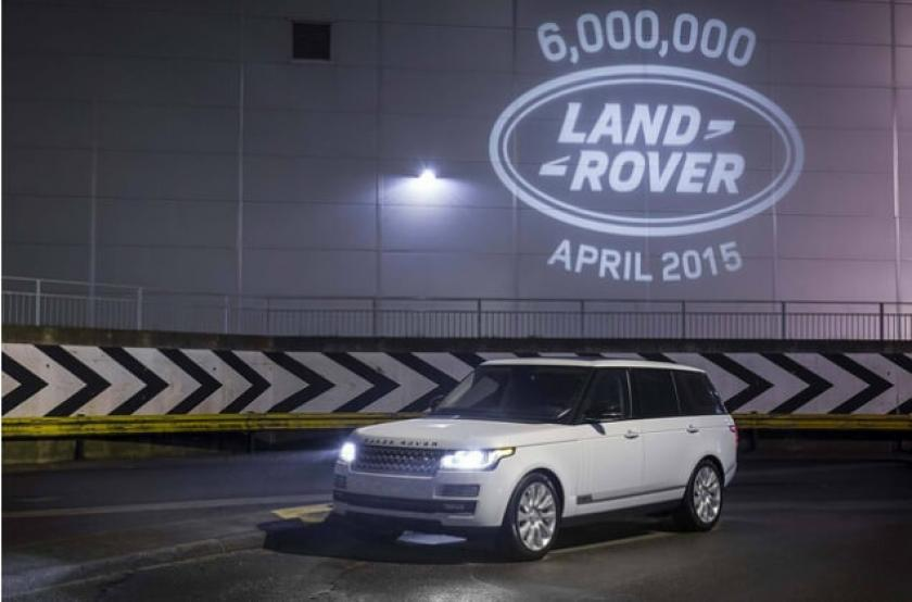 Congratulations to Land Rover …….. After 67 years they have built their 6 Millionth vehicle!